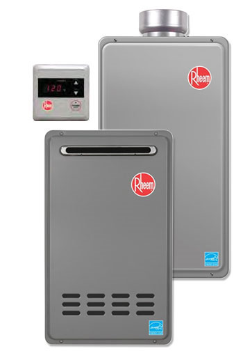 rheem tankless water heater repair manual